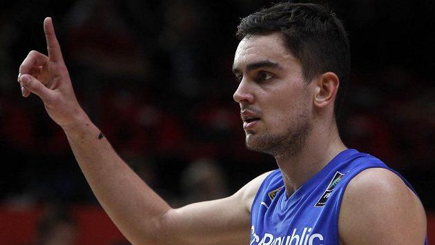 Český basketbalista Tomáš Satoranský.