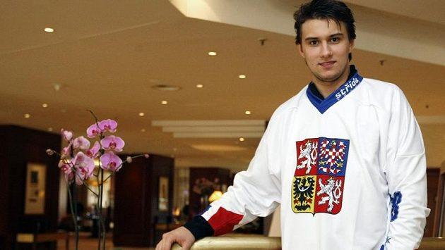Hokejový brankář Petr Mrázek.