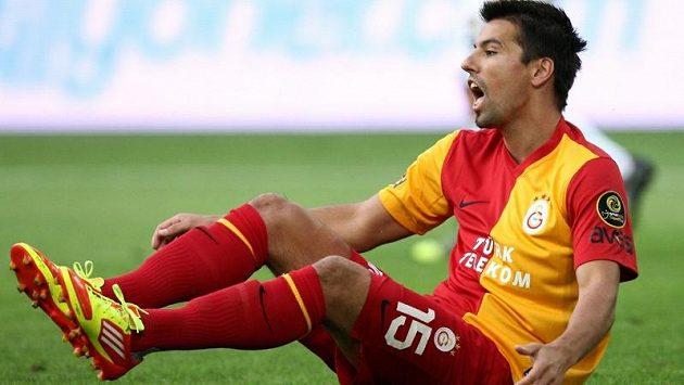 Milan Baroš v dresu Galatasaraye Istanbul