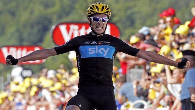 Brit Christopher Froome z celku Team Sky vyhrál první horskou etapu letošní Tour de France2.