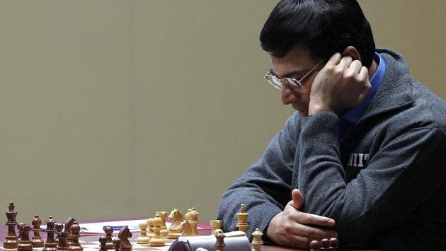 Světový šachový šampión Višvánáthán Ánand.
