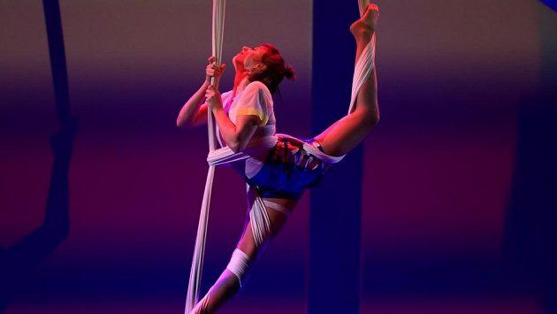 Vzdušná akrobacie - ilustrační foto.