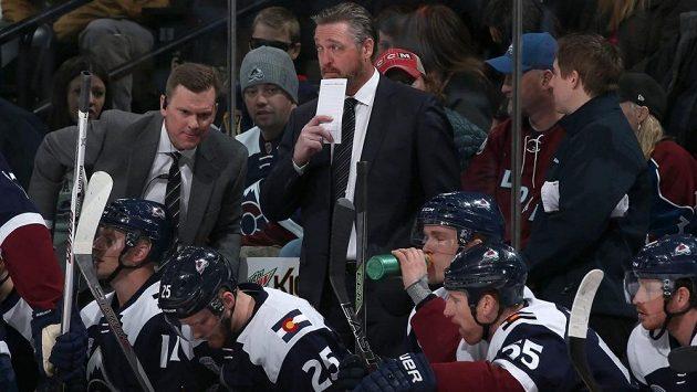 Trenér Patrick Roy už Colorado nepovede.