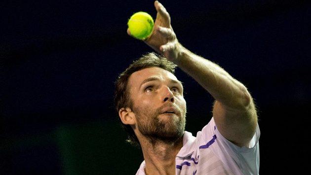 Chorvatský tenista Ivo Karlovič.