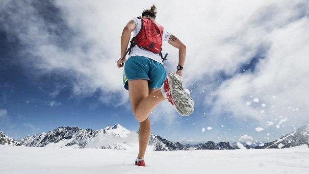Stubail Ultratrail - Poslední kilometry na ledovci vysají zbytek sil.