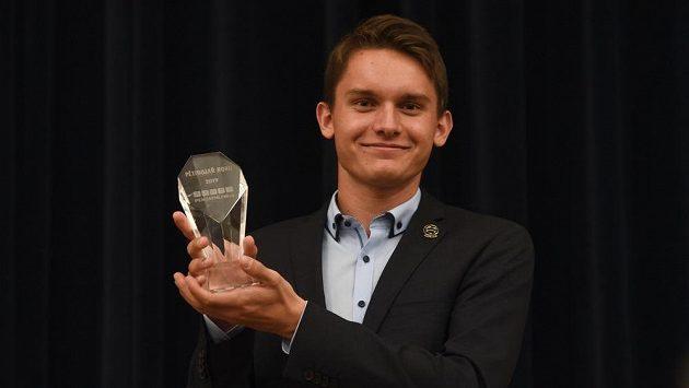 Martin Vlach byl v Praze vyhlášen nejlepším českým moderním pětibojařem roku.