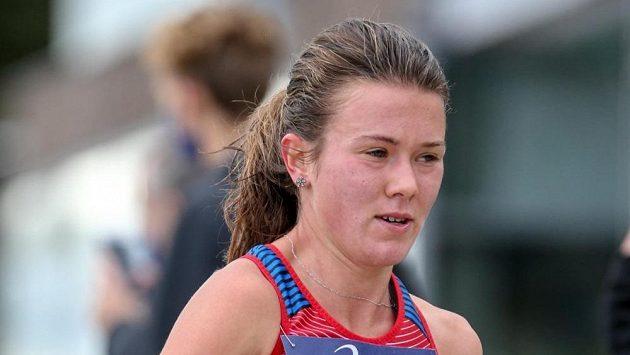 Česká běžkyně Tereza Hrochová