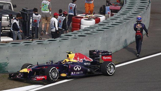 Webber po předčasném konci na čínské Grand Prix.