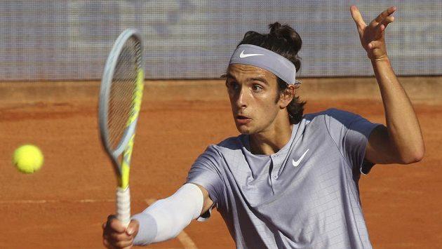 Italský tenista Lorenzo Musetti byl vyloučen z turnaje v Torontu.