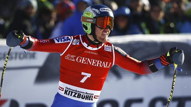 Americký lyžař Ted Ligety.