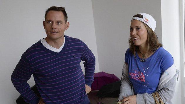 Skikrosař Tomáš Kraus a snowboardistka Eva Samková.