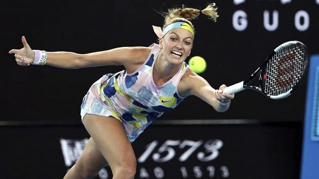 Return Petry Kvitové na Austalian Open v Melbourne.