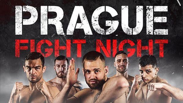 Pozvánka na Prague Fight Night.