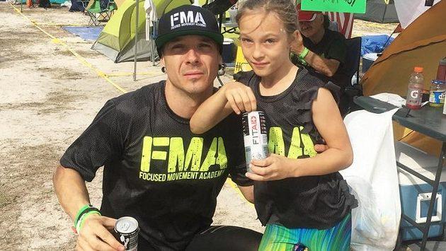 Christian Bizzotto a jeho dcera Milla.