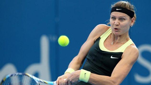 Česká tenistka Lucie Šafářová na turnaji v Brisbane.