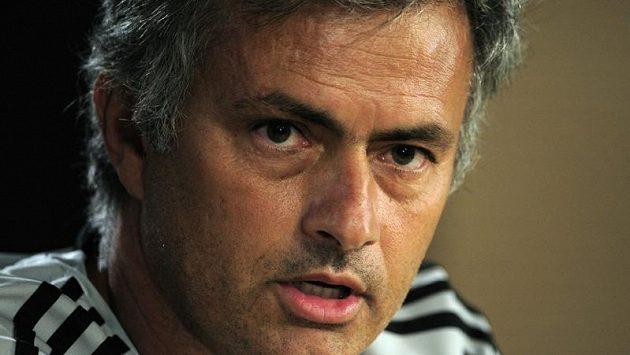 Kouč José Mourinho.