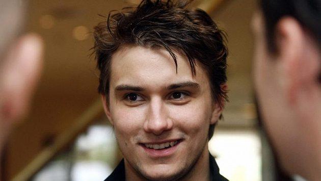 Hokejový brankář Petr Mrázek