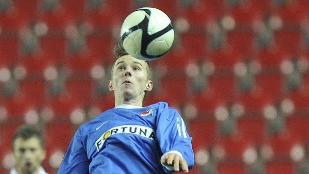 Ostravký fotbalista Ján Greguš.