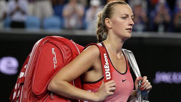 Petra Kvitová se s Australian Open loučí nečekaně brzy, už ve 2. kole.