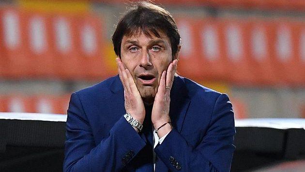Trenér fotbalistů Interu Milán Antonio Conte