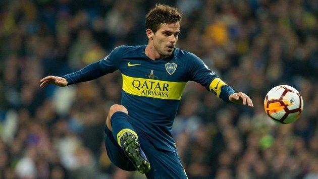 Fernando Gago v dresu Boca Juniors.