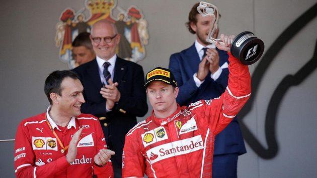 Kimi Räikkönen dojel ve Velké ceně Monaka druhý.