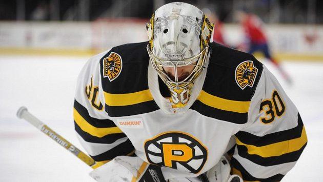 Český hokejový brankář Daniel Vladař se z AHL přesunuje do prvního celku Bostonu.