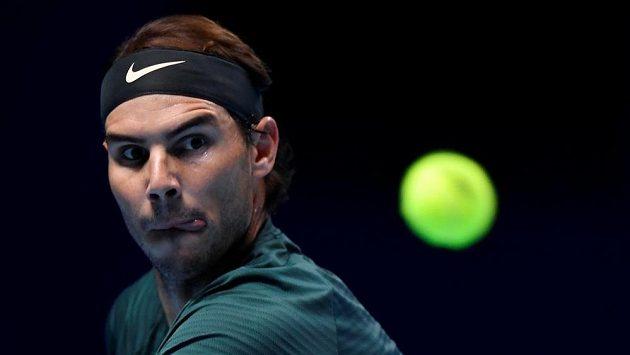 Rafael Nadal zvládl na Turnaji mistrů klíčovou bitvu