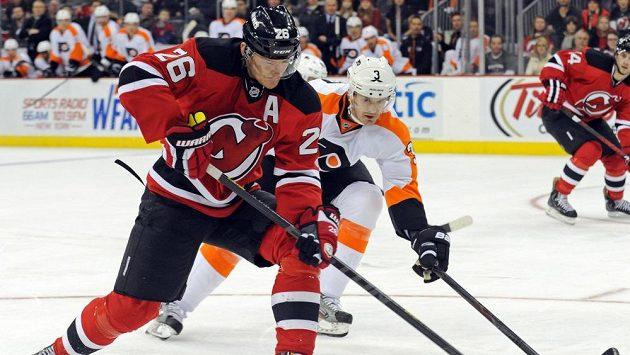 Patrik Eliáš byl hlavním strůjcem obratu hokejistů New Jersey proti Philadelphii.