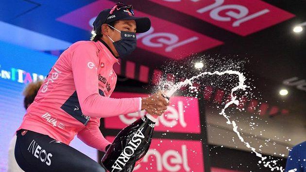 Egan Bernal vyhrál zkrácenou královskou 16. etapu Gira