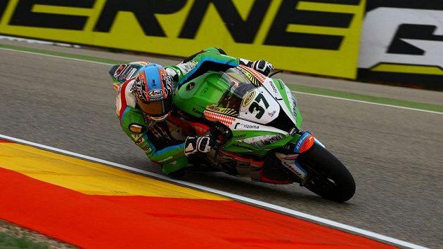 Na okruhu v Laguna Seca závodil i český jezdec v MS superbiků Ondřej Ježek.