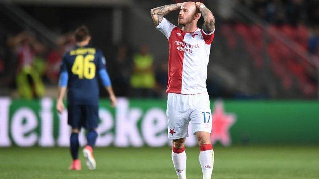 Slavia nejdřív ztratila kapitána, pak ivelký sen. Návrat do Ligy mistrů se nekoná