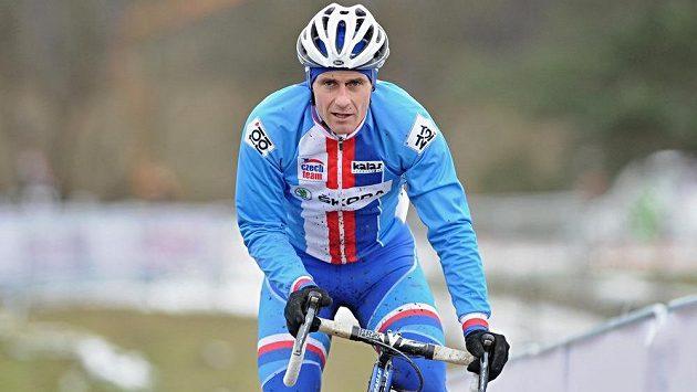 Český cyklokrosař Martin Bína byl v Táboře diskvalifikovaný.