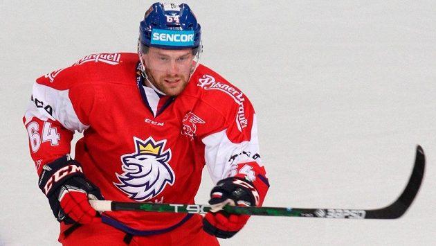 Český hokejový reprezentant Jiří Sekáč.