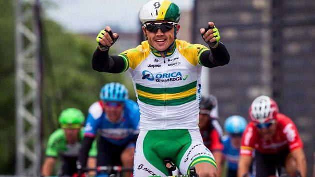 Australský cyklista Simon Gerrans při Grand Prix v Montrealu.