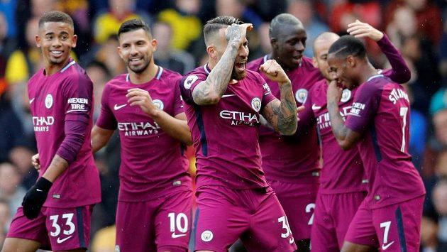 Fotbalisté Manchesteru City rozstříleli Watford.