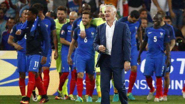 Trenér francouzských fotbalistů Didier Deschamps.
