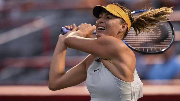 Maria Šarapovová zrušila start na antukovém turnaji v Římě. Stihne French Open?