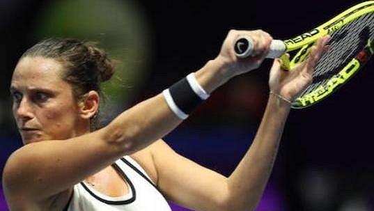 Italská tenistka Roberta Vinciová přišla o trofeje, které vyhrála během kariéry.