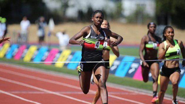 Talentovaná americká běžkyně Candace Hillová.