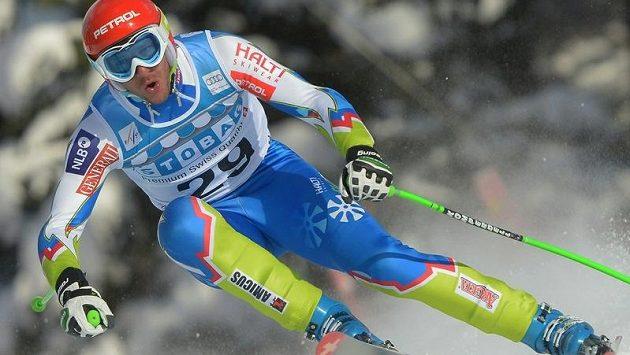 Slovinský sjezdař Andrej Jerman