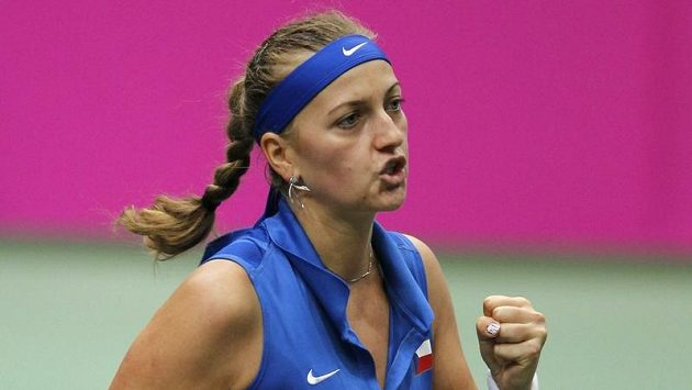 Petra Kvitová porazila Italku dvakrát během pěti dnů...