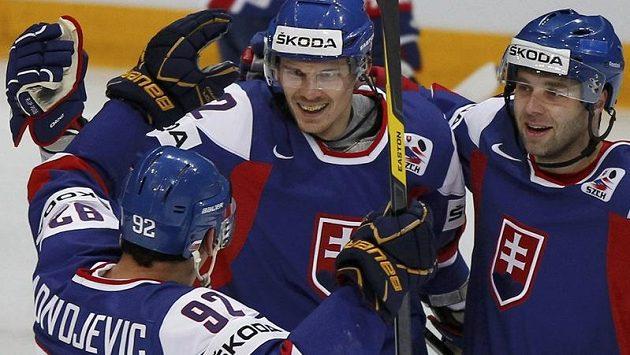 Slovenská radost v duelu s Francií.