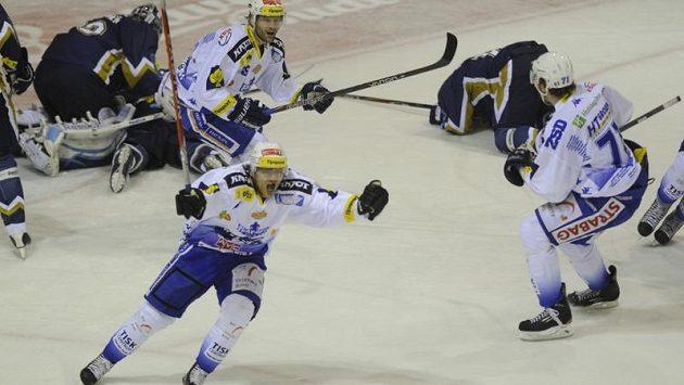 Hokejisté Brna slavili v Kladně postup do čtvrtfinále