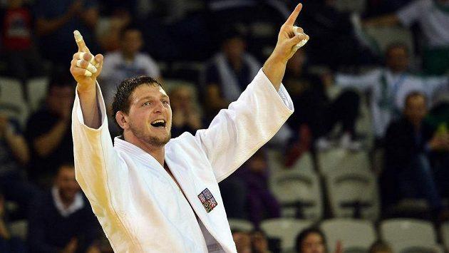 Český judista Lukáš Krpálek zvítězil v kategorii nad 100kg.
