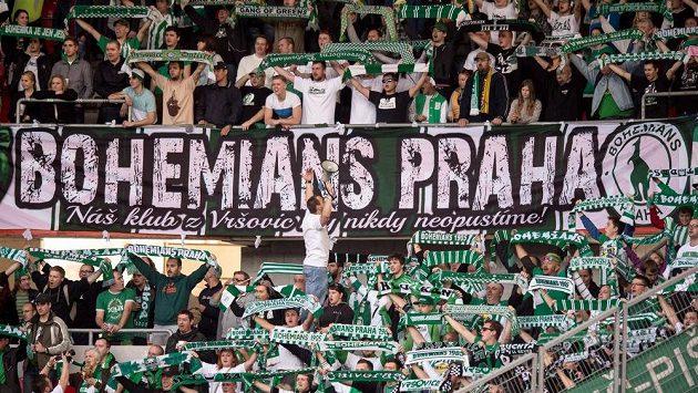 Fanoušci Bohemians Praha 1905.