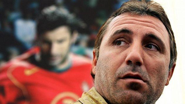 Bývalý hvězdný bulharský fotbalista Christo Stoičkov.
