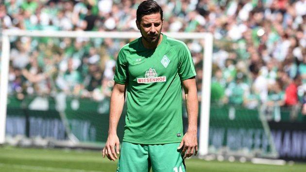 Peruánský útočník Claudio Pizarro končí po 18 letech v Brémách.