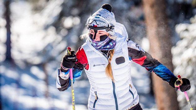 Markéta Davidová se už s ostatními biatlonisty připravuje v kanadském Canmore.