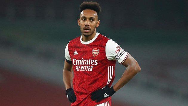 Pierre-Emerick Aubameyang, útočné eso Arsenalu.